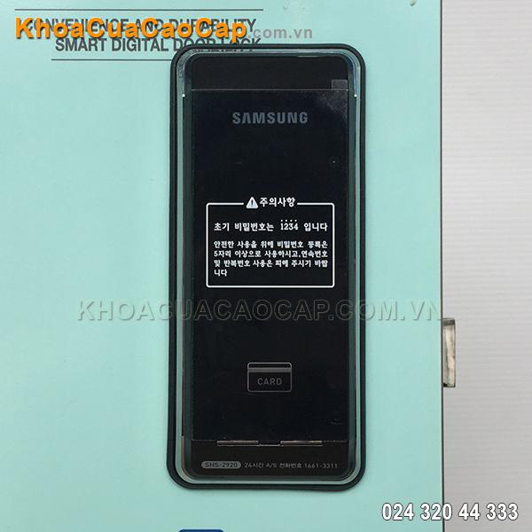 Khóa điện tử không tay nắm Samsung SHS-2920
