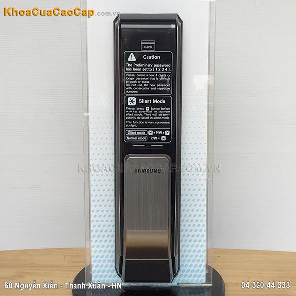 Khóa điện tử mã số thẻ Samsung SHS-P717