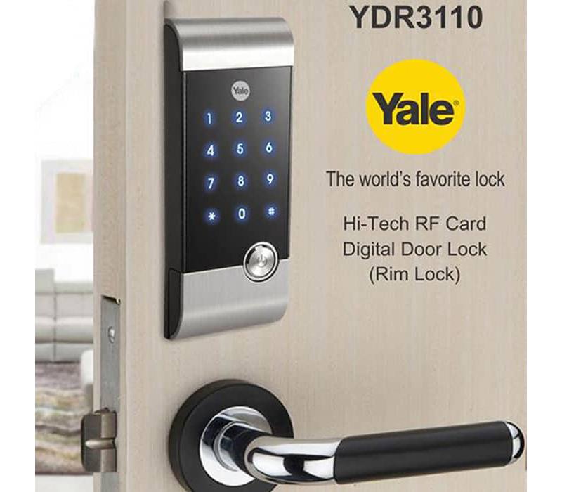 Khóa thẻ từ mã số Yale YDR-3110 - ảnh 5