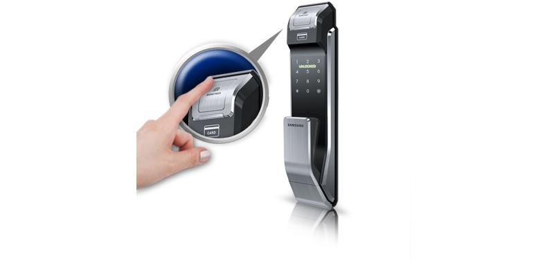 Khóa vân tay Samsung SHS-P718 - ảnh 3