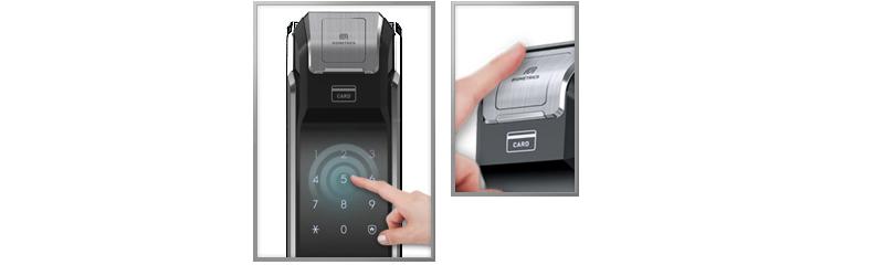 Khóa vân tay Samsung SHS-P718 - ảnh 4