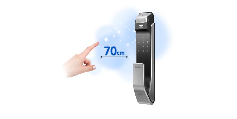 Khóa vân tay Samsung SHS-P718 - ảnh 5