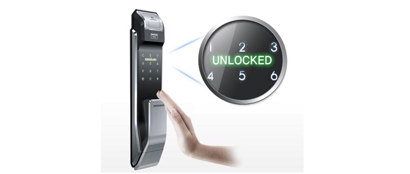 Khóa vân tay Samsung SHS-P718 - ảnh 6